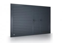 bramy garażowe dwuskrzydlowe